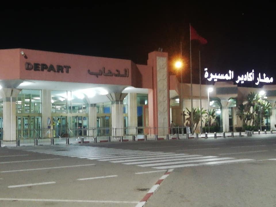 عاجل : تفتيش حقيبة مواطن أمريكي بمطار أكادير يفجر مفاجأة كبيرة