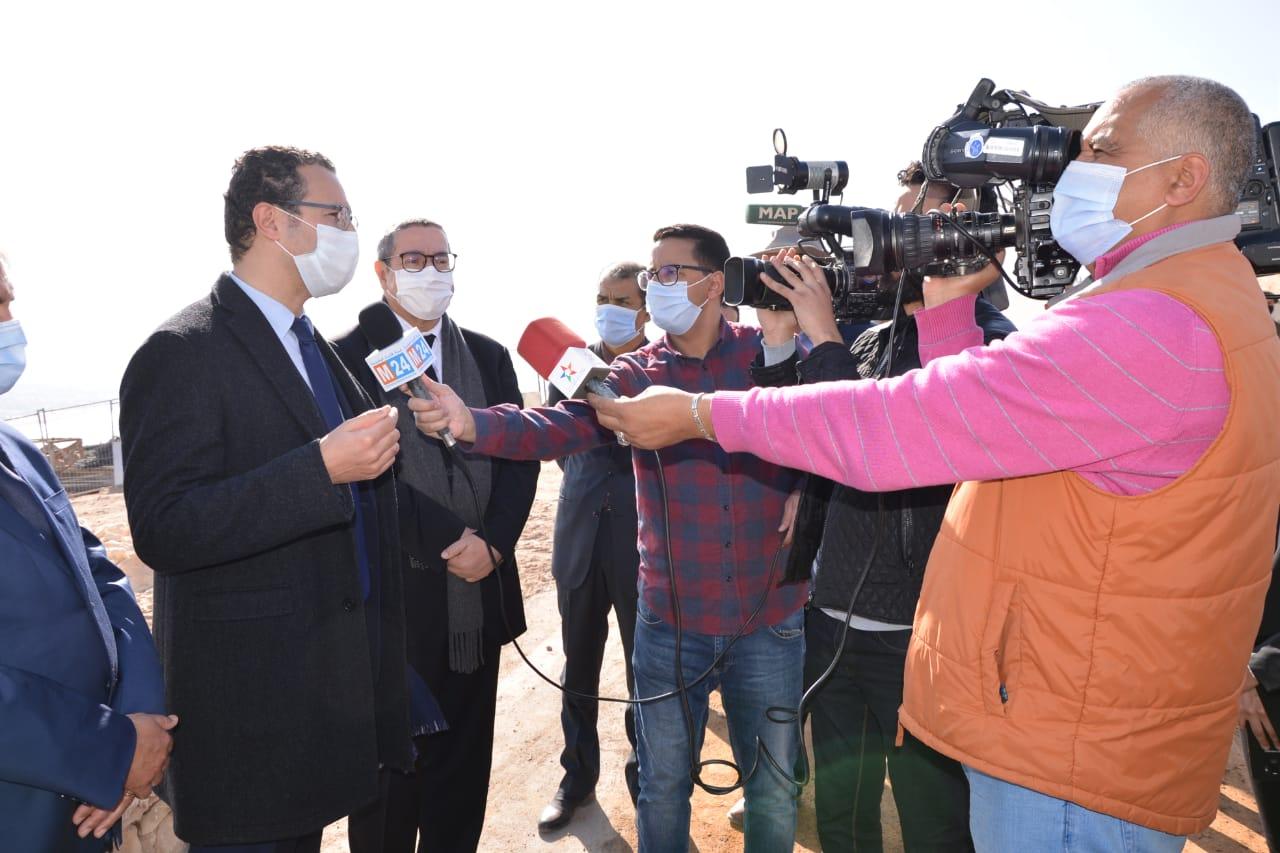 وزير الثقافة والشباب و الرياضة يحل بأكادير، (3)