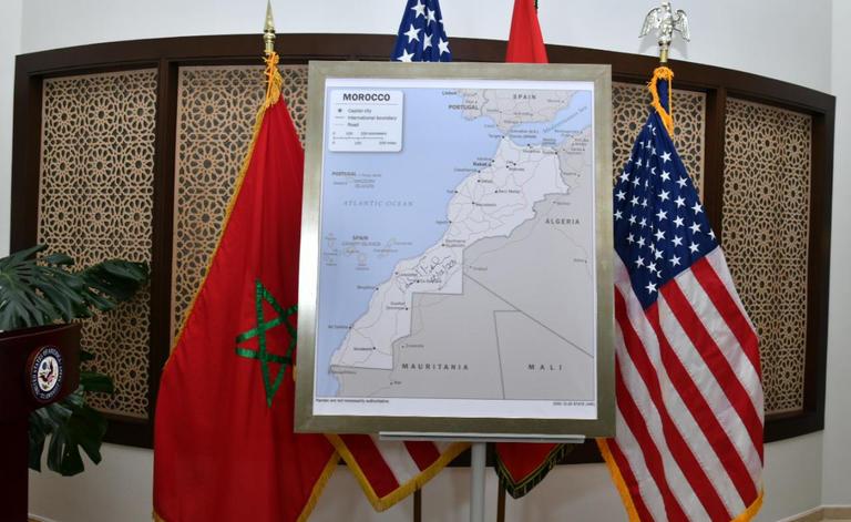 """اختفاء نص إعلان """"ترامب"""" اعترافه بسيادة المغرب على صحرائه من الموقع الرسمي للبيت الأبيض، يثير الجدل، وهذه حقيقة الإختفاء."""