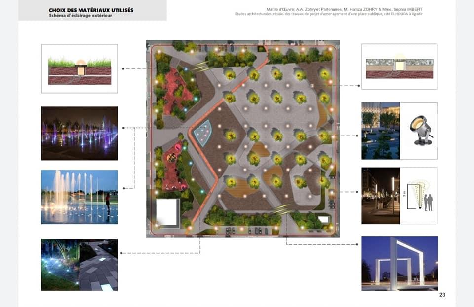 أكادير : ستتغير معظم ساحات في إطار برنامج التنمية الحضرية.